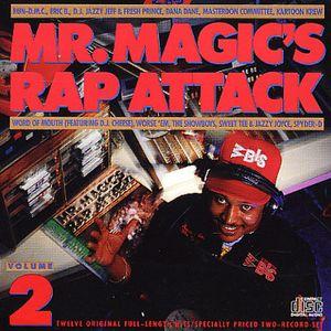 Mr Magic's Rap Attack interview with DJ Run of Run DMC