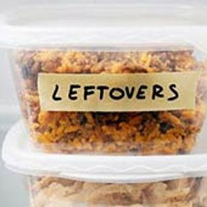 All the leftovers