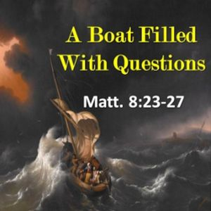 A Boat Filled With Questions