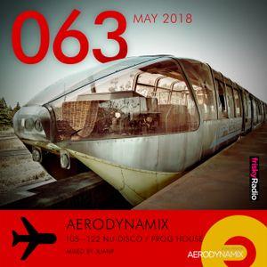 Aerodynamix 063 @ Frisky Radio May 2018 mixed by JuanP