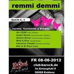 08.06.2012 Remmi Demmi @ Barock Club Koblenz Part 1