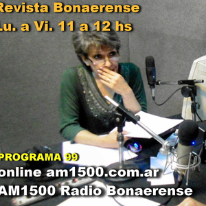 (audio) Revista Bonaerense 17/8/2016