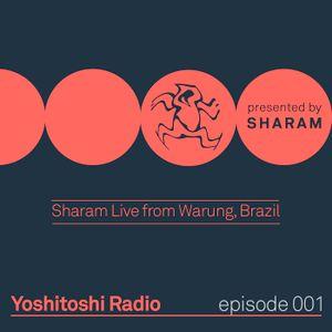 Yoshitoshi Radio 001 - Live from Warung Brazil