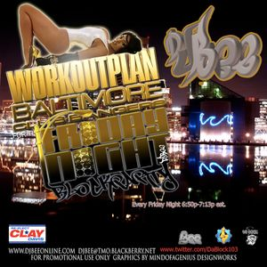 Workout Plan Aug 13,2010 (Baltimore Club)