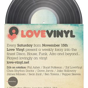 Rhythm Doctor live at Love Vinyl party at Corsica Studios