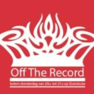 Off The Record 9 augustus