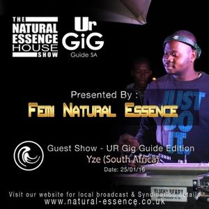 The Natural Essence House Show Episode 193 - Yze  | www.natural-essence.co.uk
