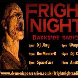Fright Night Radio 28th March Ant Dub