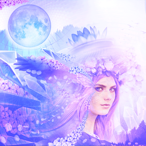 Once in a blue fae moon medicine mix