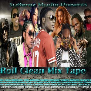 #Roll #Clean Mix Tape 2017 Dancehall