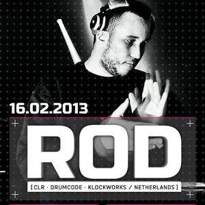 ROD - Live @ Play Techno Forsage Club Kiev (Ukraine) 2013.02.16.