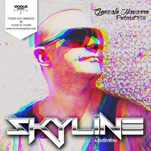 Gonzalo Navarro@Vicious Radio SKYLINE 17-10-15