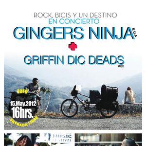 La Voz del Planeta entrevista a los Ginger Ninjas el día 15 de Mayo 2012 en el marco de las celebrac