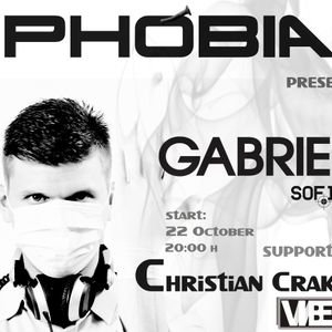 GABRIEL - PHOBIA 012 Guest Mix @ Vibes Radio Station 22 October 2011