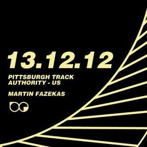 Martin Fazekas live at breakandenter/Architextures - Dec 13, 2012
