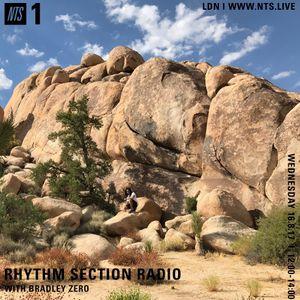 Rhythm Section w/ Bradley Zero - 16th August 2017