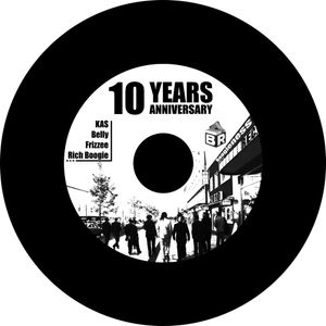 10 Years Boogieness Records 20 min. of Hip Hop