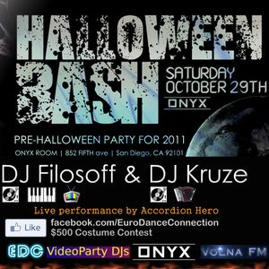 DJ Seagull & Kruze - Euro Halloween Bash Mix (live cut)