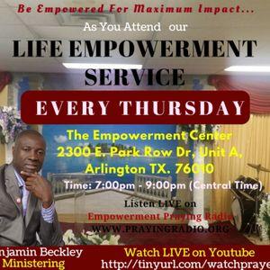 Life Empowerment Service- Scriptural Demands For Enjoying A Life of Abundance Part 1