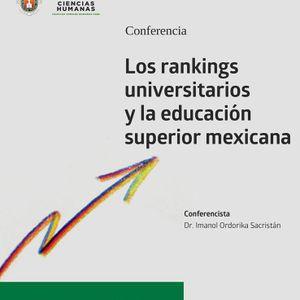 Rankings Universitarios Dr. Imanol Ordorika