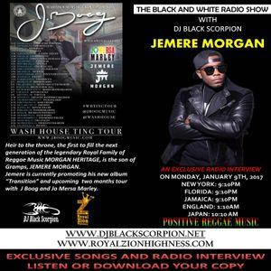 Jereme Morgan - Radio Interview on The Black and White Radio Show 1-9-17