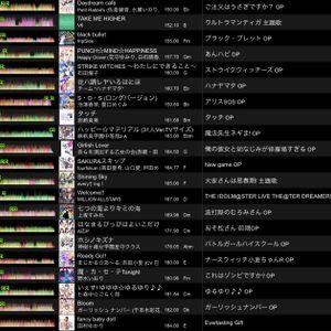 2017-12-4 Wed animesong mix2