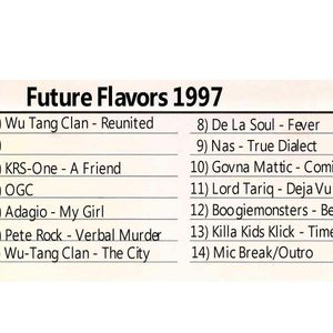 Future Flavas w/Marley Marl & Pete Rock March 1997