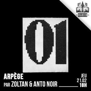ARPÈGE - S01.E01 - Zoltan & Anto Noire - 21/02/2019 - RADIODY10.COM