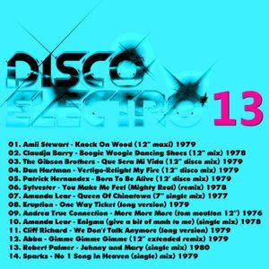 DISCO ELECTRO 13 - Various Original Artists [electro synth disco classics] 70s & 80s