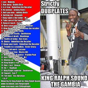 KING RALPH SOUND - STRICTLY DUBPLATE MIX