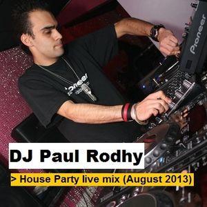 House Party live Mix (August 2013) part 1