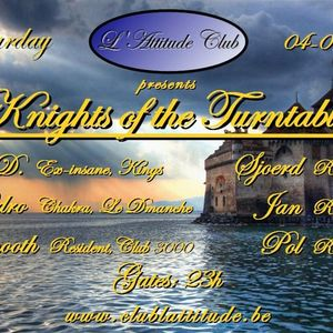 04/09/2010 - dj Smooth live @Knights of the Turntables (Club L'Attitude Lokeren)