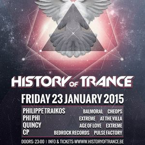 CP Cedric Piret @ Balmoral - History Of Trance - 23-01-2015