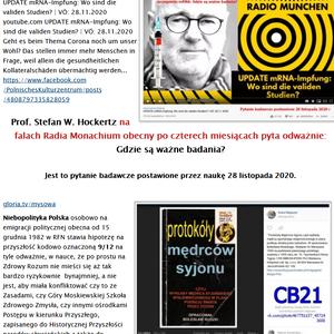 Prof. Stefan W. Hockertz 4M O Zolotom milliarde CB21 von Stefan Kosiewski FO PANDEMIA PSYCHOZY SSetK