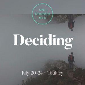 MYC2016 Talk #5 Thinking through decisions