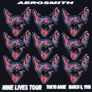 Aerosmith - March 8th 1998 at Tokyo Dome in Tokyo, Japan during the Nine Lives Tour