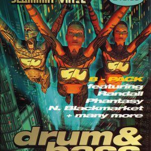 Nicky Blackmarket & MC Fearless - Slammin Vinyl - Bagleys - 8.5.98