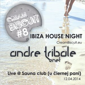 Andre Tribale - Live @ Cream Biscuit 8 - Sauna Club PN 20140412