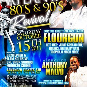 Atlanta 80's 90's Revival Promo mix pt.1 - Dj Stephen
