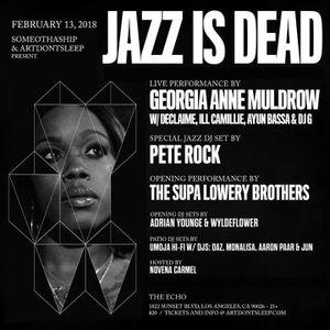 Umoja Hi-Fi Live @ Jazz Is Dead  Pt. 2 - 2/13/2018