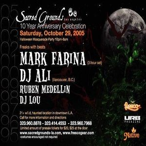 Mark Farina @ Sacred Grounds 10 Yr Anny Halloween Masquerade- Los Angeles- October 29, 2005- Part 2