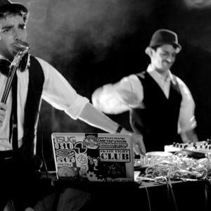 Dr Roman & Spats Pinguino - Moustaches & Monocles