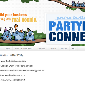 Secret Web Biz - Twitter Party