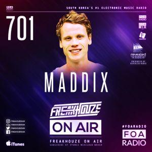 Freakhouze On Air 701 ● Maddix