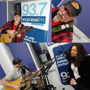 Russell Hill's Country Music Show on Express FM feat. Stevie Simpson + Stanford Road. 19/02/17