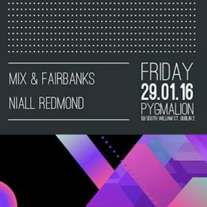 Niall Redmond LIVE at PYG (Pygmalion) Dublin - 29th January 2016 - FULL SET