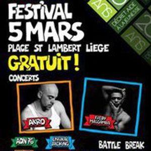 Phat Beatz (Equinox): radio show promoting Hip-Hop festival in Liège saturday 5 March (part.1)