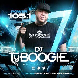 "DjTYBOOGIE ""LIVE @ 5 MIX 11/29/17"" ON THE ANGIE MARTINEZ SHOW (POWER105.1)"