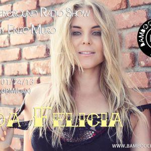 LA Underground Radio Show w/ MOA FELICIA (Cibicaldi Records) hosted by Enzo Muro