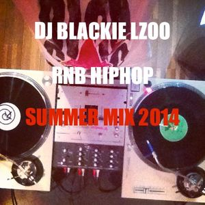 DJ BLACKIE RNB HIPHOP SUMMER MIX 2014